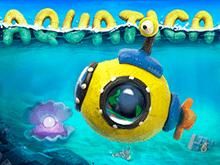Тематический игровой автомат Акватика в зале игрового портала